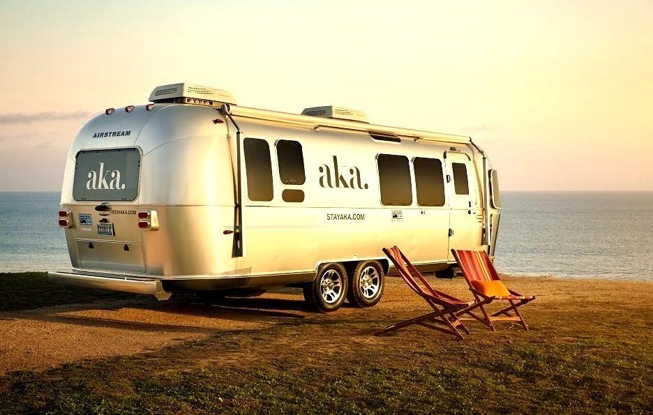 Camping, California, Usa, Vehicles, Trailer