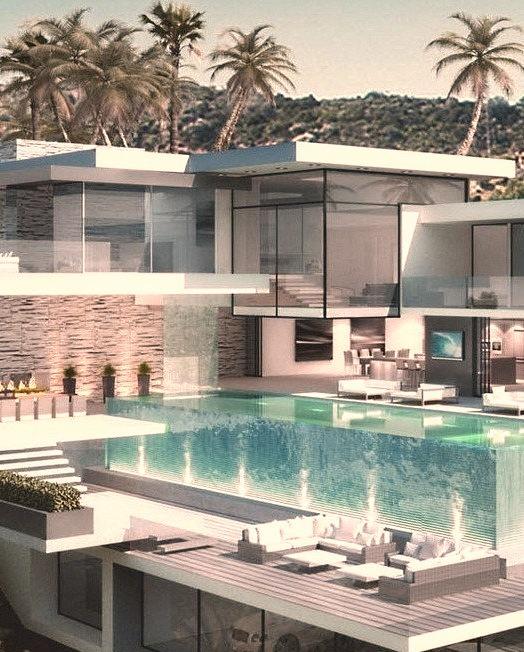Apartment, Swimming Pool, Luxury Homes, Home Design, Pool